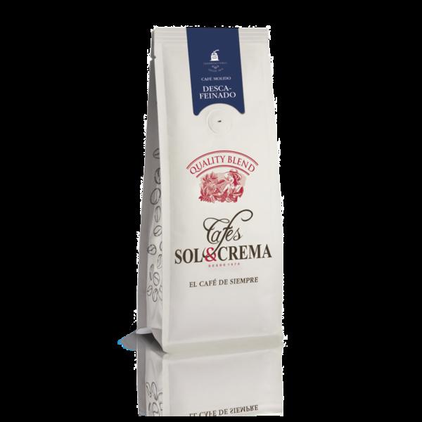 Café Sol y Crema - Café Molido Descafeinado